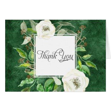 Professional Business Thank You Notes Bridal Wedding Boho Leaf Wreath