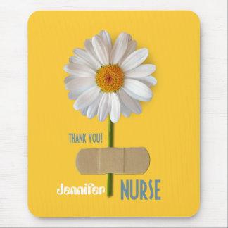 Thank You, Nurse. Custom Name Gift Mousepad