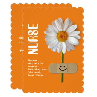 Thank You Nurse. Customizable Greeting Cards
