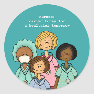 Thank You Nurse. Gift Stickers