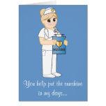 Thank You Nurse Sunshine Card
