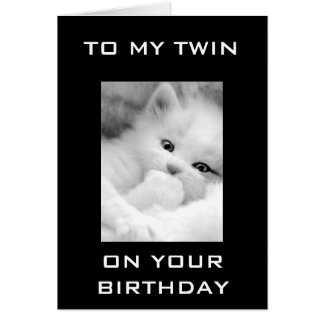 Special Twin Brother Cards, Special Twin Brother Card Templates ...