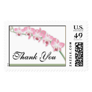 Thank You Orchids Postage