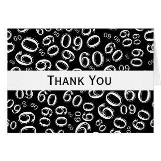 Thank You Over The Hill 60th Birthday Theme Card