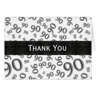 Thank You Over The Hill 90th Birthday Theme Card