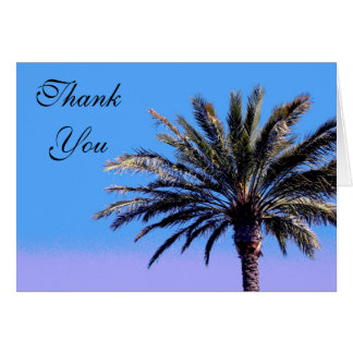 Thank you Palm Tree Card