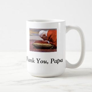 Thank You, Papa! - Pope Benedict XVI Coffee Mug