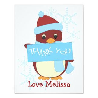 Thank You Penguin Card