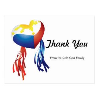 Thank You Philippine Parol Customize Post Card