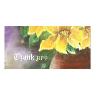 thank you photo card