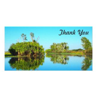 Thank You photo card - Yellow Waters, Kakadu