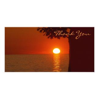 Thank You Photocard Card