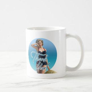 Thank You Pin Up Norma Coffee Mug