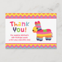 Thank You Pinata Mexican Fiesta Birthday Party