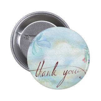 thank you pinback button