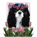 Thank You - Pink Tulips - Cavalier - Tri-Color Photo Sculptures