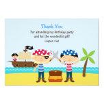 Thank You Pirate Card Custom Invite