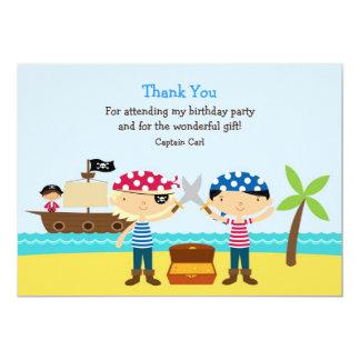 "Thank You Pirate Card 5"" X 7"" Invitation Card"