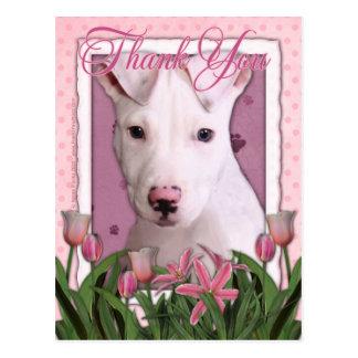 Thank You - Pitbull Puppy - Petey Postcard