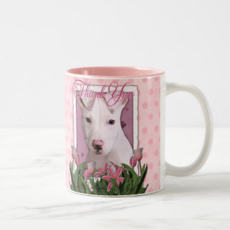 Thank You - Pitbull Puppy - Petey Two-Tone Coffee Mug