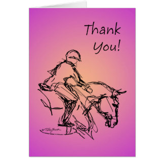 Thank you Pony! Pink Card