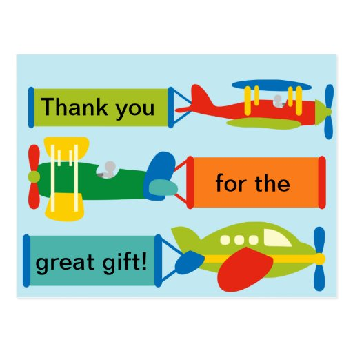 Thank you post card  (personalize)