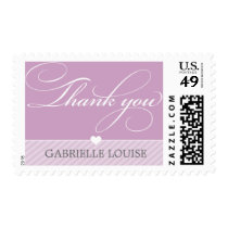 THANK YOU POSTAGE STAMPS  :: lovely type 4