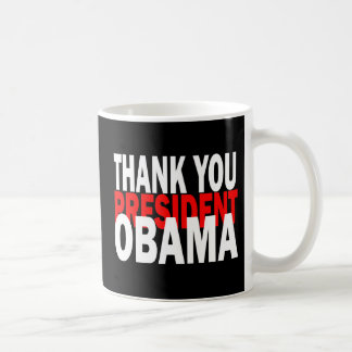 Thank You President Obama Coffee Mug