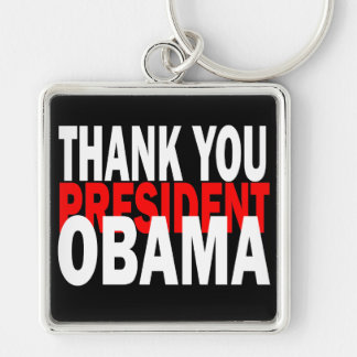 Thank You President Obama Keychain