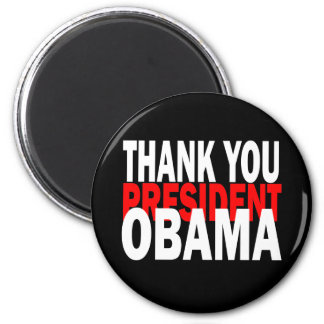 Thank You President Obama Refrigerator Magnets