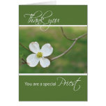 Thank You Priest, Dogwood Blossom Greeting Cards