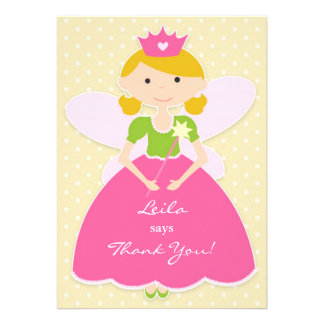 Thank You Princess Card Personalized Invitations