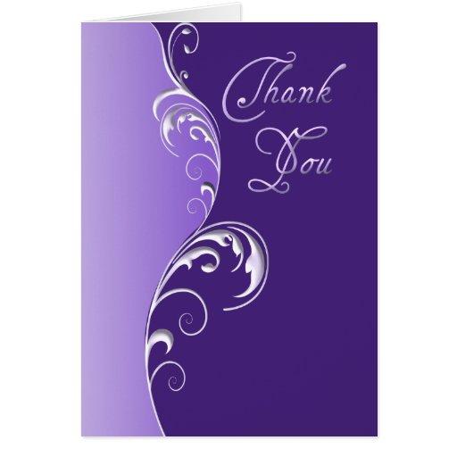Thank You ~ Purple Card