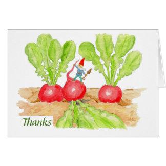 Thank You Radish card