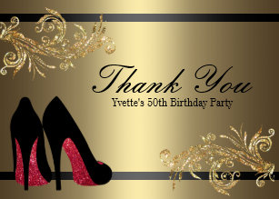 Thank You Red Dancing Shoes