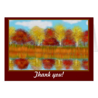 Thank you Reflections Card