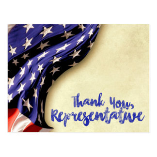 Thank You, Representative Postcard