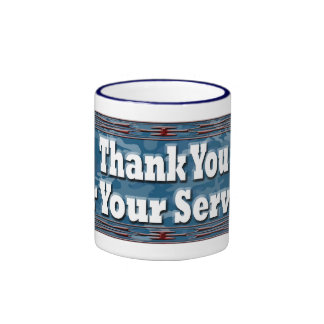 Thank You Ringer Mug