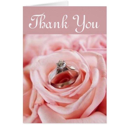 Thank You Rose Greeting Card