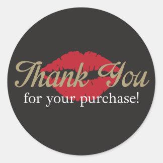 Thank You - Round Sticker