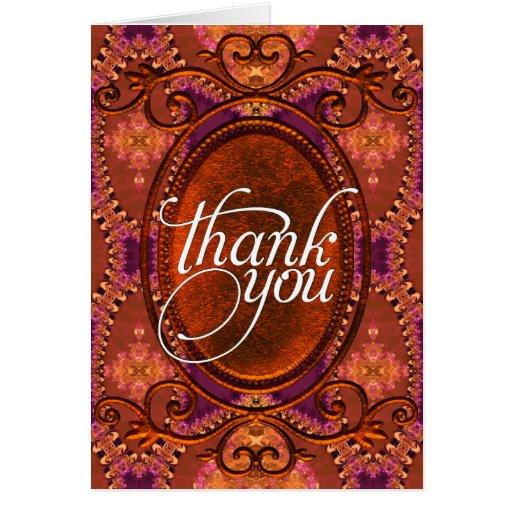 Thank You | Rustic Bohemian Decor  Cards