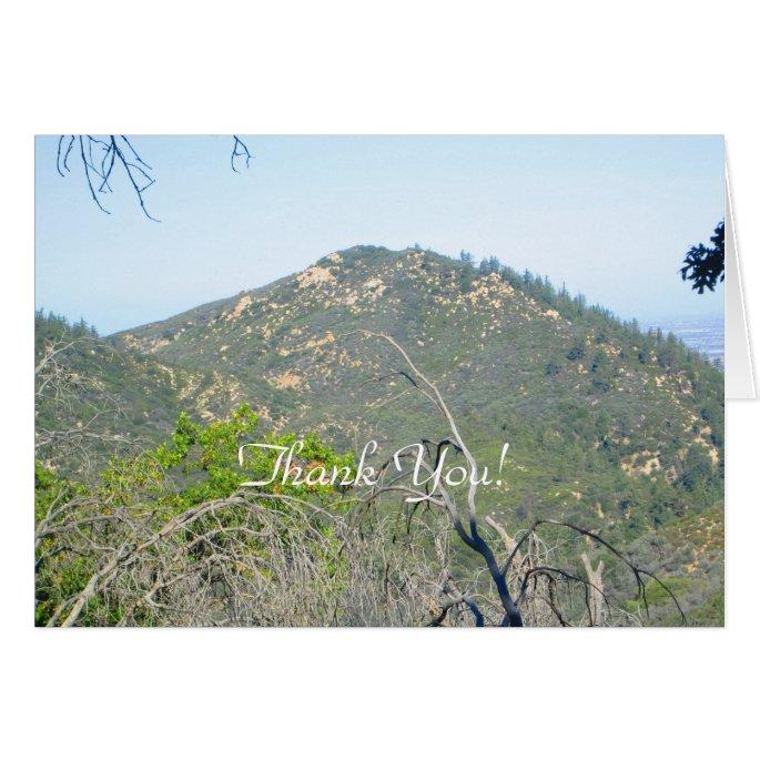 Thank You San Bernardino Mountains Card
