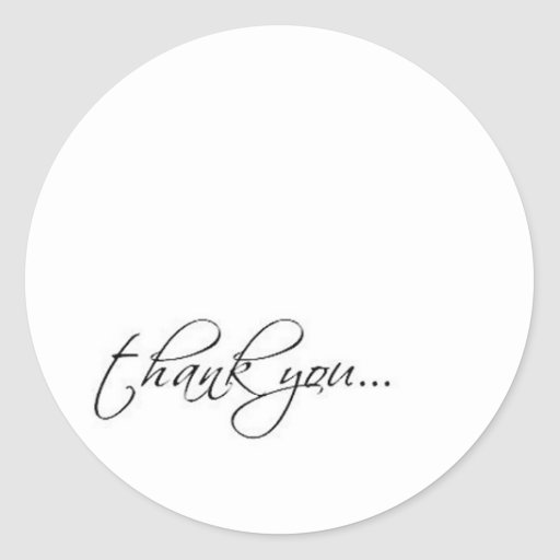 thank you scriptina sticker
