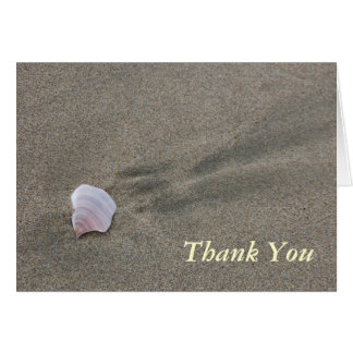 Thank You Shell Stationery Note Card