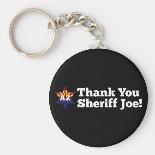 Thank You Sheriff Joe! Keychain