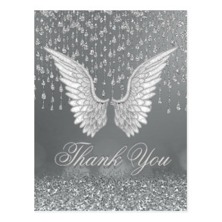 Thank You | Silver Tears Postcard