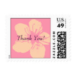 Thank You - Simple Apple Blossom Postage Stamp