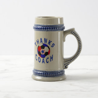 Thank You Soccer Coach  Gift Drink Stein