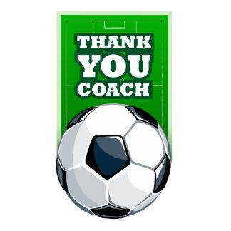 Thank you soccer coach photo cutouts