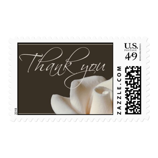 Thank You - soft rose Postage